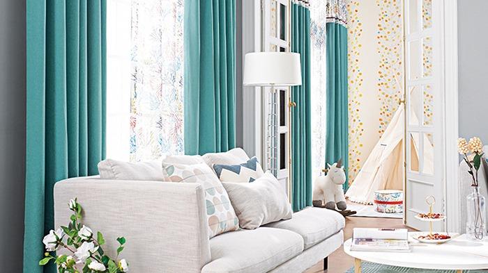 客厅窗帘定制